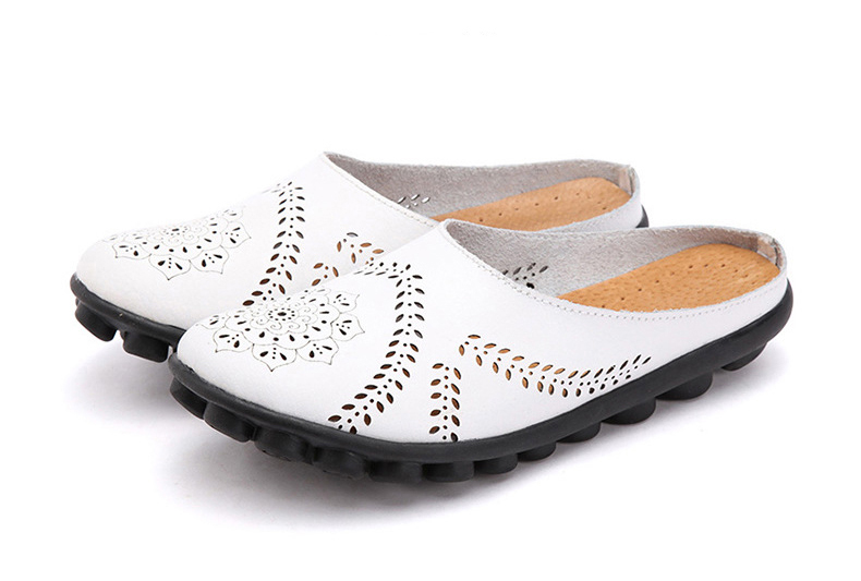 XY 991 Cut Outs Women's Summer Flats Shoes -23