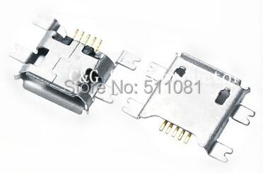 20pcs smd chip Micro USB 5p 5pin micro usb connector,Data