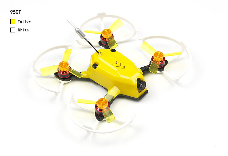 95GT PNP FPV Racer Mini Drone Quadcopter  with 1103 7500KV Motor 800TVL Camera  DSM2 / XM / FS-RX 2A / FM800 Receiver