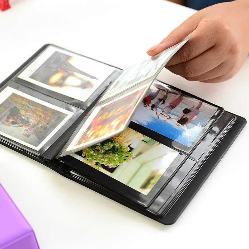 64Pockets Mini Instant Polaroid Photo Album Picture Case for Fujifilm Instax Mini Film 7s 8 25 50s 90 instax mini Polaroid album