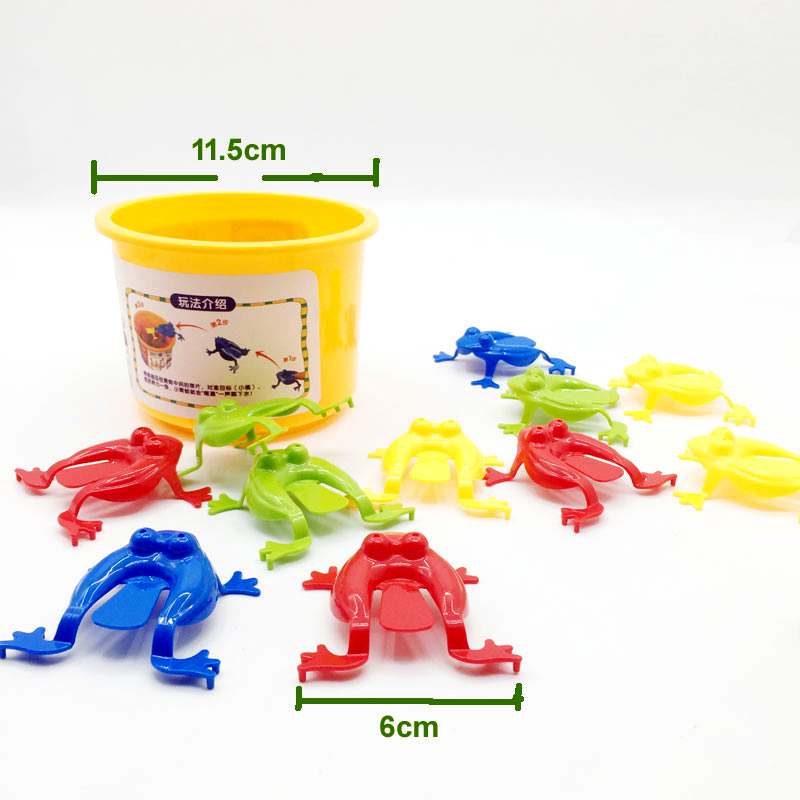 Learning & Education 13 Pcs Kids Game Toy Jumping Frogs Abs Baby Plastic Toy Learning Education Frog Kids Toys For Children Gift Handsome Appearance