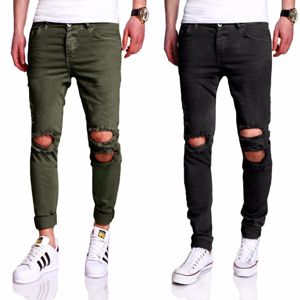 b6326314b20e3 Pantalones vaqueros de moda 2018 para hombre