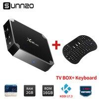 New 2017 X96mini Smart Android 7 1 2 TV BOX Amlogic S905W Quad Core 1GB 8GB