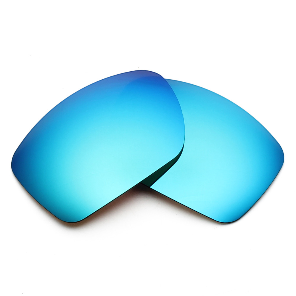 a85253907a1 4 Pairs Mryok POLARIZED Replacement Lenses for Oakley Big Taco Sunglasses  Stealth Black   Ice Blue   Fire Red   Silver Titanium-in Accessories from  Apparel ...