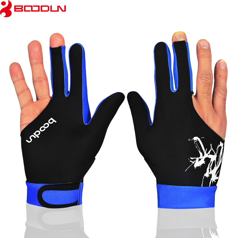 Boodun 1PCS Soft Comfortable Breathable Billiards Gloves Quality Assurance 5Colors Sports Pool Shooters Table Gloves Men&Women