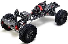 CNC Aluminum Metal and Carbon Frame for RC Car 1 10 AXIAL SCX10 Chassis 313mm Wheelbase