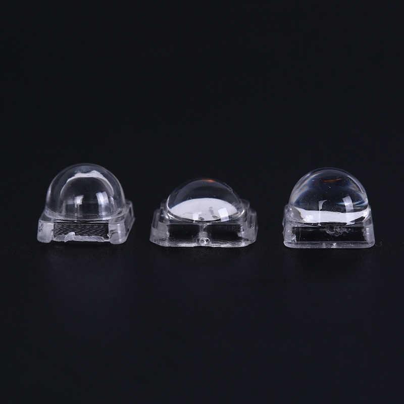 PiniceCore LED lentille r/éflecteur 50pcs Collimateur pour 5050 SMD 30 60 120 degr/és Convex lentille Optique r/éflecteur Collimateur 10 8 mm