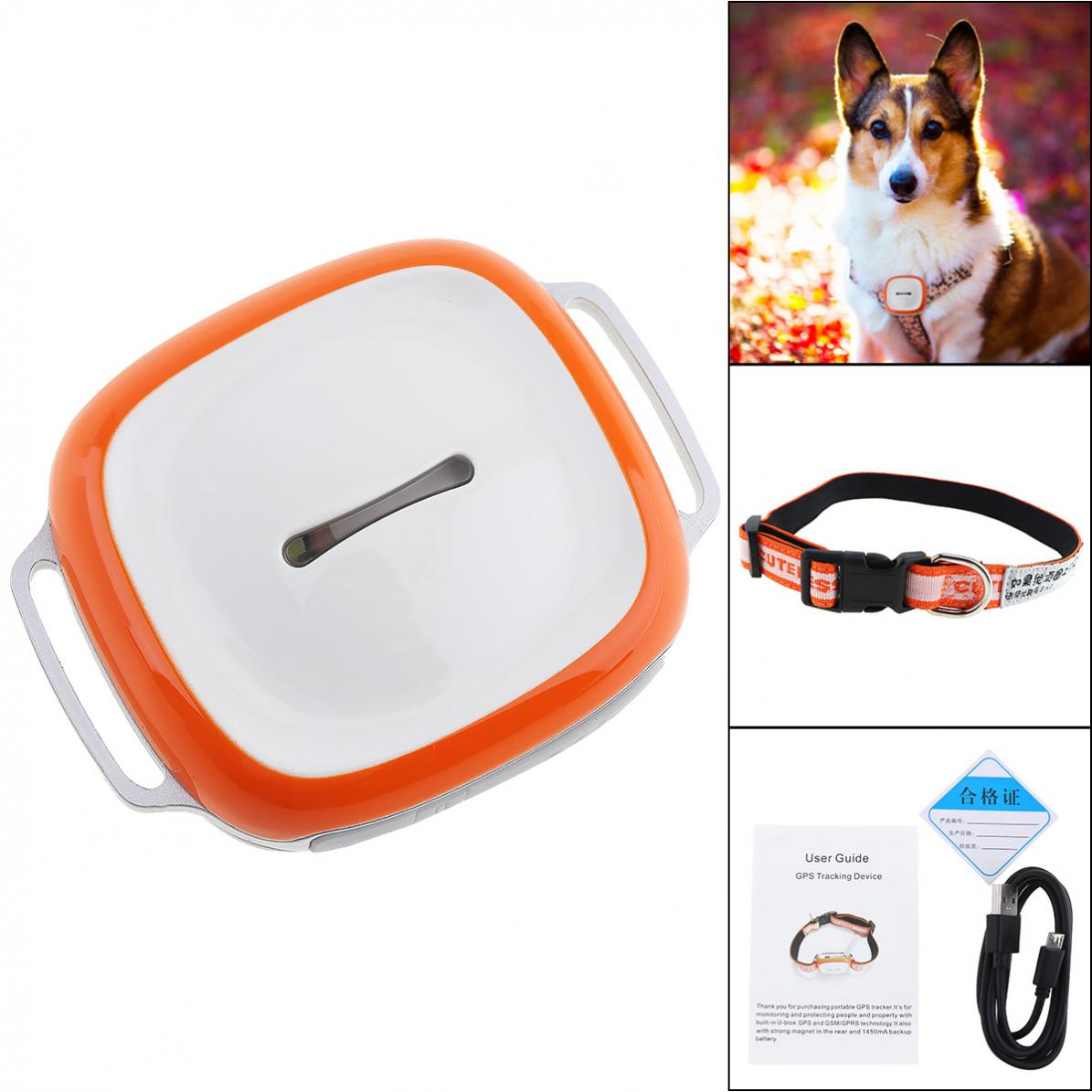 GT011 Waterproof Mini GPS Tracker Locator with WIFI GSM GPRS Tracker for Pets Cats Dogs Tracking 3g wcdma pet gps tracker v40 waterproof intelligent wifi anti lost gps wifi electronic fence 3g gps tracker