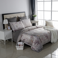 Alanna 6pcs Printed American Rural Style Bedding Set
