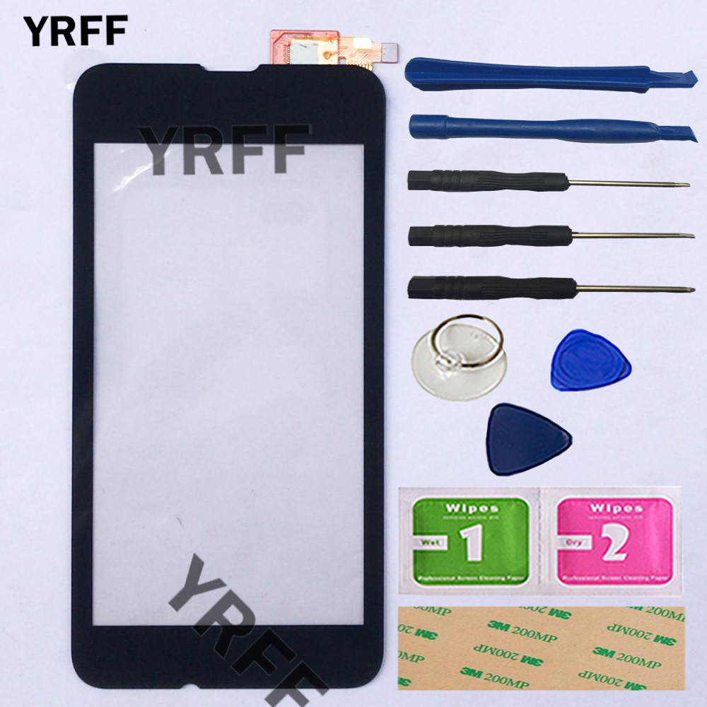 Mobile Touch Screen For Nokia Microsoft Lumia 530 N530 RM-1017 Touch Screen Panel Sensor Digitizer Front Glass Outer Touchscreen