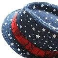 Bebê Da Menina do Menino chapéu Jazz Topper Criança Crianças Crianças Cap Chapéus Multi Cores