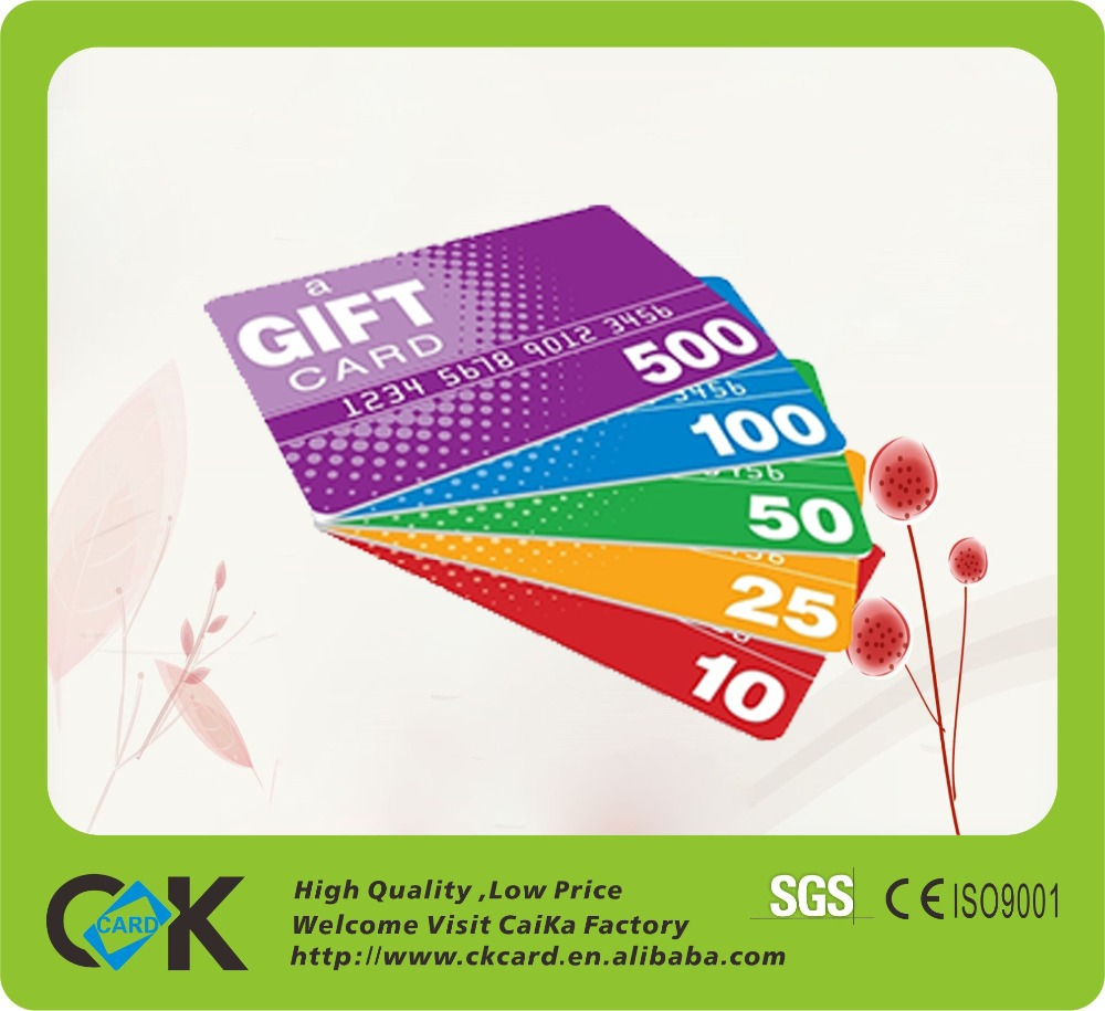 Promotion Gift Wholesale Plastic Card From Professional