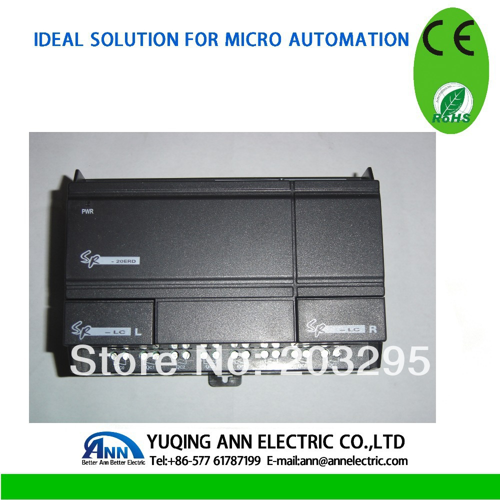 PLC expand module SR-20ERA, 100-240VAC 12 Point AC input,8 point relay output цены