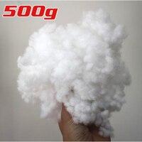 De alta Calidad de Poliéster de fibra de Relleno de relleno/relleno Juguetes almohadas Edredones y más 500 g/pack