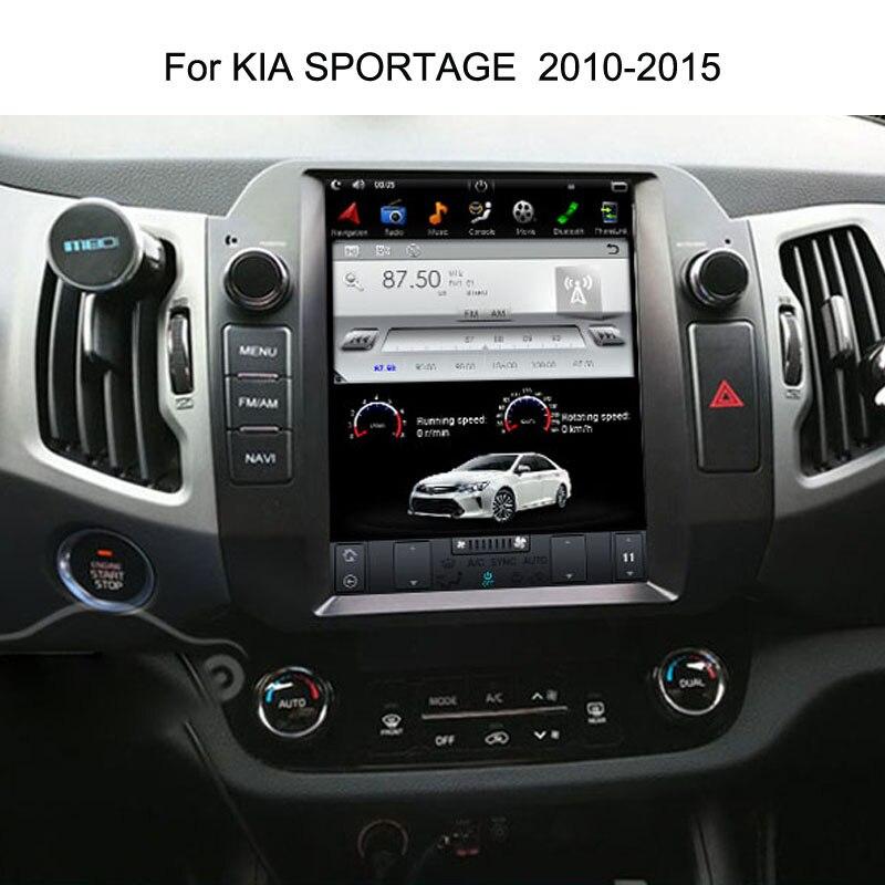 10 4 Tesla Android Fit KIA Sportage 2010 2011 2012 2013 2014 2015 Car DVD Player