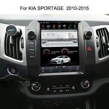10,4 «Тесла Android подходит для KIA Sportage 2010 2011 2012 2013 2014 2015 автомобильный DVD плеер навигация GPS радио