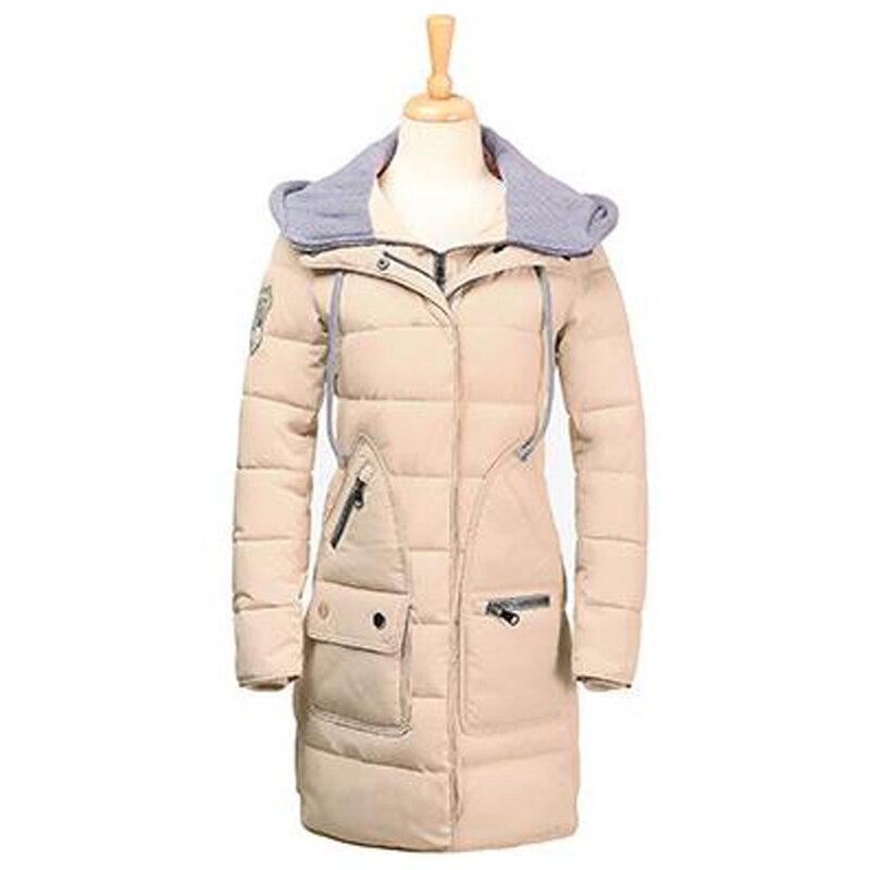 New arrival warm long style women parka wadd jacket female winter tops women outerwear slim jackets long cotton jacket coats