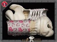 Top Quality Kendo White Kote Hello Kitty Diamond thorn Machine Stitched Martial Arts Free Shipping