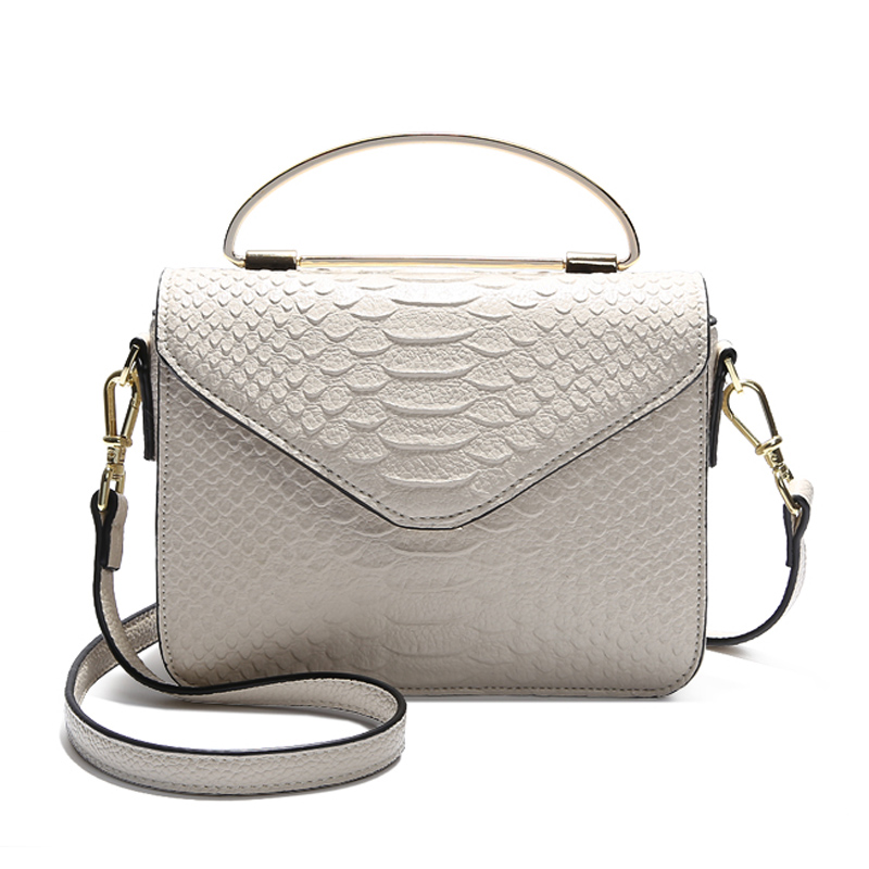 Brand Genuine Leather Handbag Luxury Handbags Women Bags Designer Crocodile Texture Shoulder Crossbody Small Tote Bag