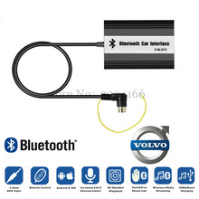 Araba Bluetooth A2DP MP3 müzik Adaptörü için Volvo HU-serisi C70 S40/60/80 V70 XC70 Arayüzü ses kalitesi MP3 Çalarlar araç-styling