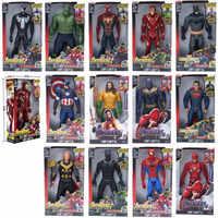 "Marvel Super Heroes Avengers Thanos Schwarz Panther Captain America Thor Iron Man Spiderman Hulkbuster Hulk Action Figur 12 ""30 cm"