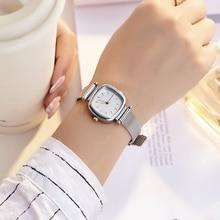 square small dial reloj mujer luxury brand women
