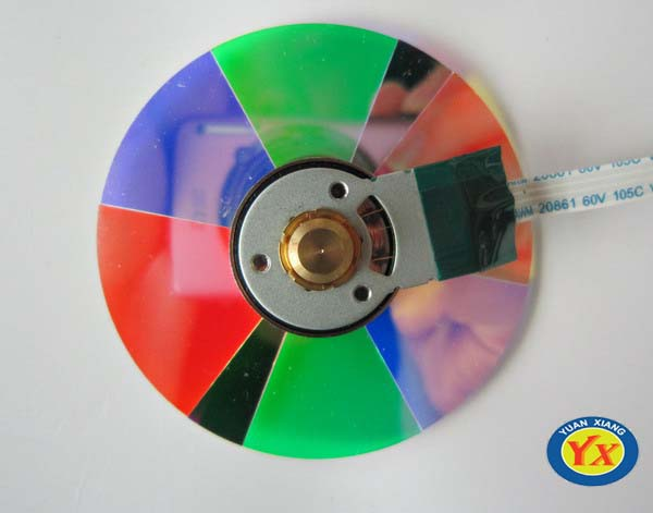 Original projector color wheel for W9000 ,high quality ,New