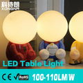 Free Shipping Creative LED Desk Lights, USB Charging, 3W LED Table Lamp, AC85~265V, Warm White/Cold White, 2 Years Warranty