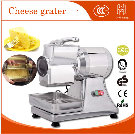 Freeshipping Commerial electric stainless steel coarse slicer cheese grater machine industrial electric coarse cheese grater grinder grinding machine mini stainless steel cheese grater