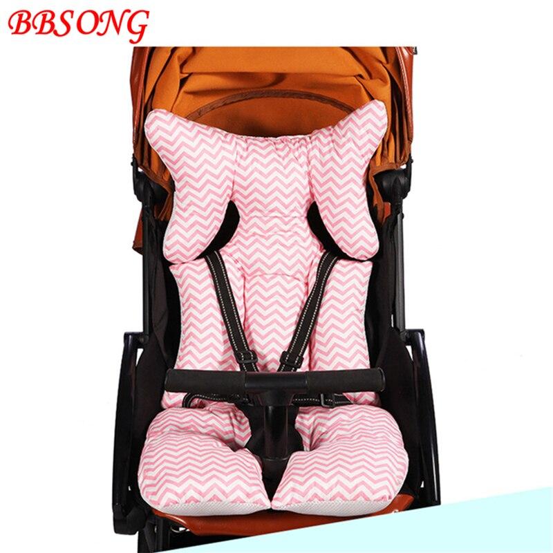 Детская коляска BBSONG хлопковая подушка для сидений аксессуары детских