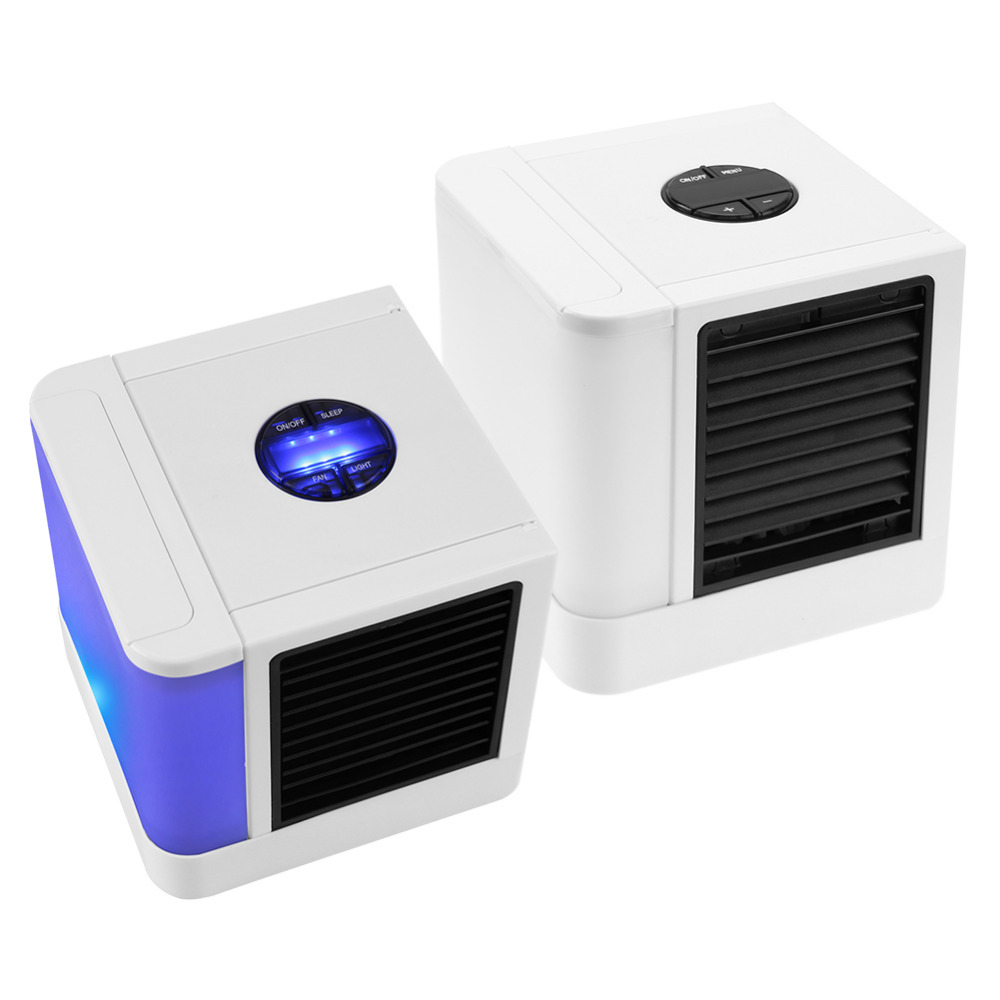 3rd Generation 7 Colors Mini Air Conditioner Artic Air Cooler LED LCD Timer USB Personal Space Cooler Fan Air Cooling Fan Device (14)