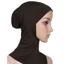 Muslim Hijab Full Cover Inner Modal Cap Ninja Hijab Underscarf Women Muslim Hat Bonnet Tubes Islamic Hijab Toca Scarf