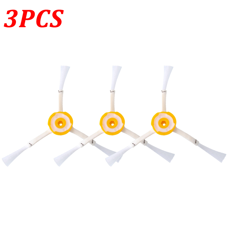 3 Pack 3-Armed Side Brush Replacement For Vacuum Cleaner iRobot Roomba 800 900 Series 880 870 980 Vacuum Parts Accessory Kit brother tn241y yellow тонер картридж для brother hl 3140cw hl 3170cdw dcp 9020cdw mfc 9330cdw