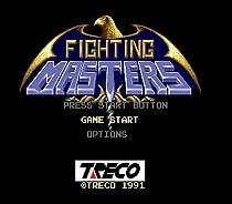 Fighting Masters 16 bit MD Game Card For Sega Mega Drive For SEGA Genesis