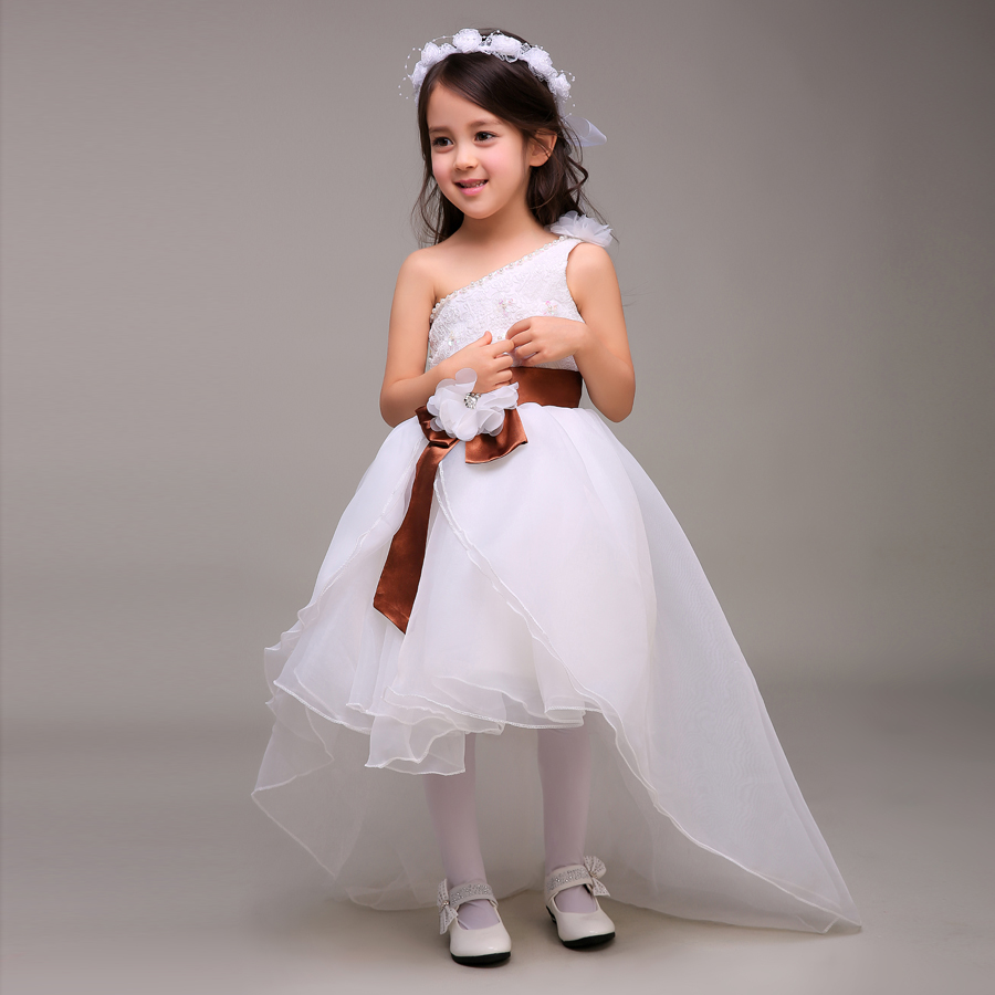 Winter Flower Dresses For Weddings Lace Little S Pageant Kids Dress Wedding Gowns Toddler Cupcake In From Events On