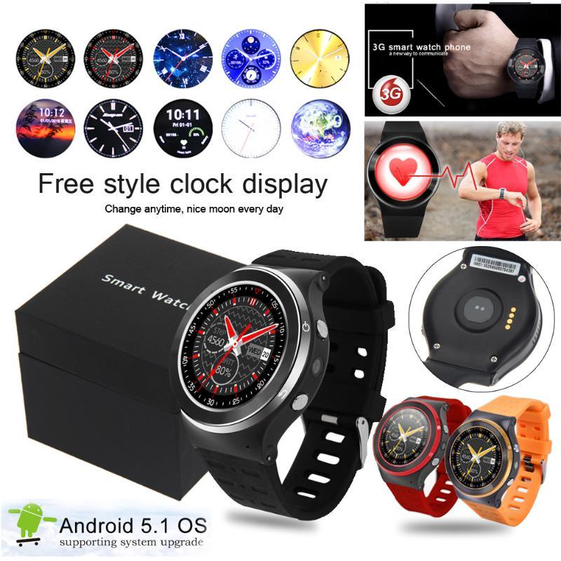 все цены на New Original MTK6580M S99 GSM 3G Quad Core Android 5.1 Smart Watch With 5.0 MP Camera 8G App GPS WiFi Bluetooth V4.0 Pedometer