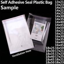 4cb5a027d Transparente auto-adhesivo de polietileno OPP bolsas de plástico claro de  auto sellado resellables de Cello bolsa de celofán peq.