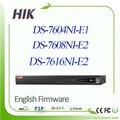 Hikvision Английская версия 6MP NVR 4-КАНАЛЬНЫЙ 8-КАНАЛЬНЫЙ 16-КАНАЛЬНЫЙ HD DS-7604NI-E1 DS-7608NI-E2 DS-7616NI-E2 Сетевой Видеорегистратор Поддержка Onvif