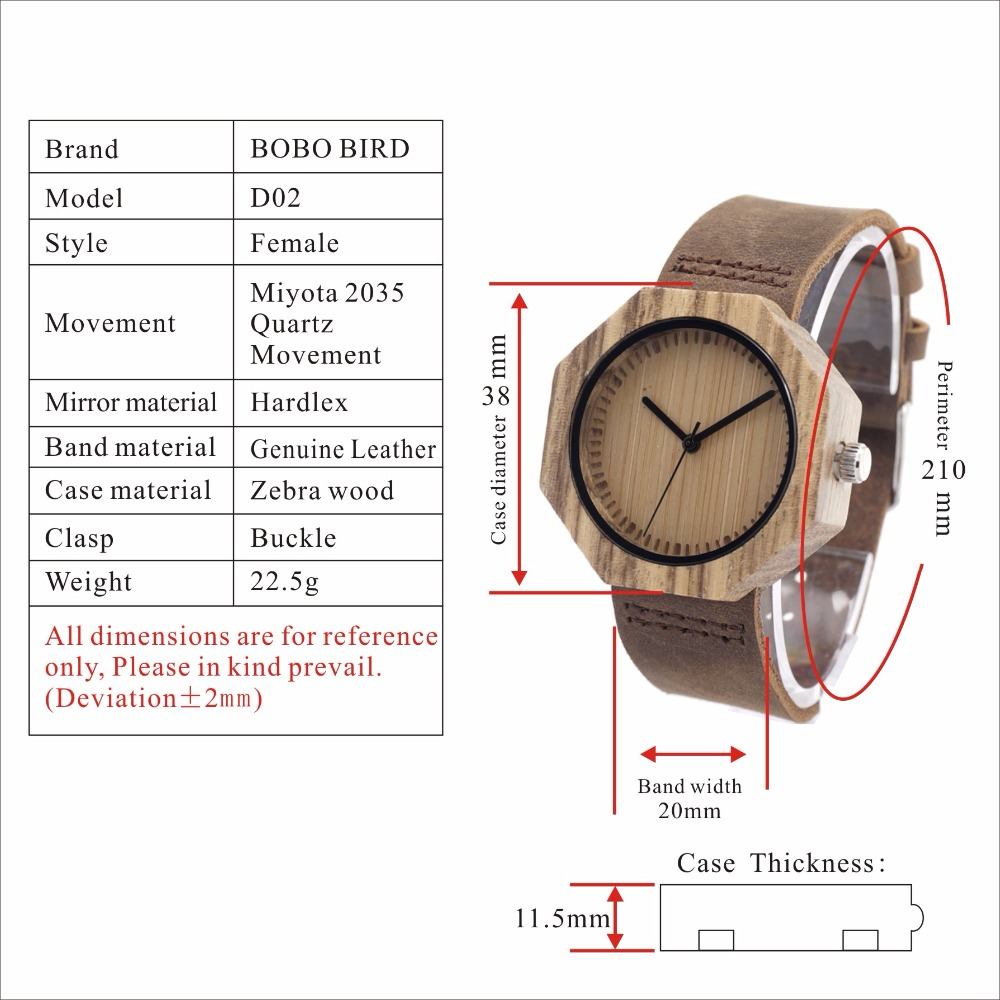 Wood Quartz Watch Luxury Wood Ladies Watch Relogio Masculino C-D02