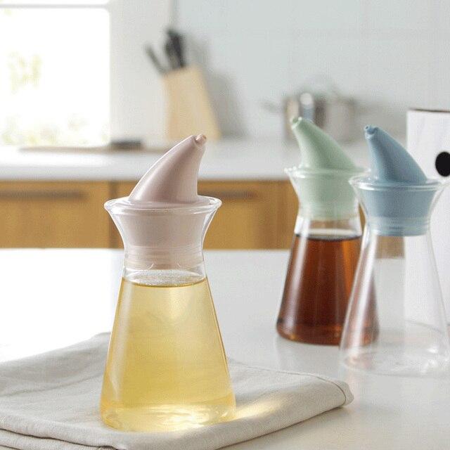 Glas Öl Flasche dicht Zutaten Glas Transparent bleifreien Sicherheit ...