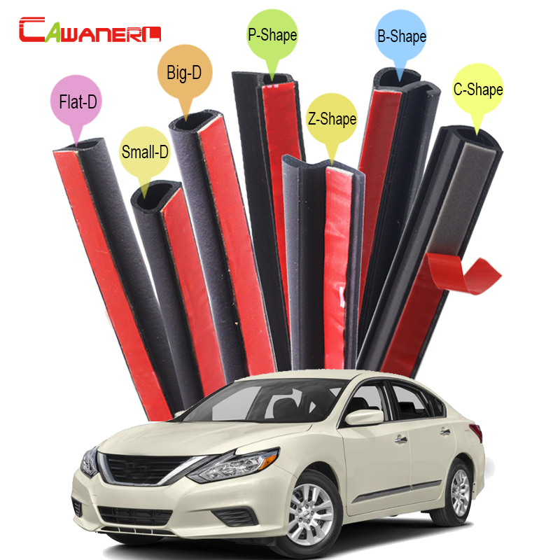 Cawanerl Car Sealing Strip Kit Weatherstrip Auto Rubber Seal Edging Trim For Nissan Primera Sentra Skyline Altima Cefiro Fuga nikko машина nissan skyline gtr r34 street warriors 1 10 901584 в перми