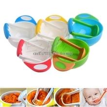 Детские Обучающие блюда, шлифовальная чаша ручной работы, пищевая добавка для детей, детская пищевая мельница