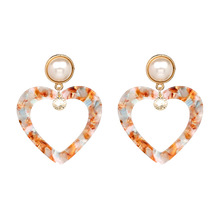 Simulated Pearl Earrings Hanging Femme Oorbellen Special Design Luxury Wedding Jewelry Women Fashion Statement Dangle Brincos