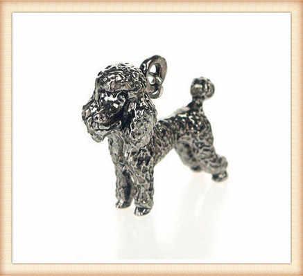 Venda quente animais chaveiro cão bonito ursinho chaveiro pequeno animal de estimação adorável chaveiro Anti - banhado a prata brithday presente para amigos