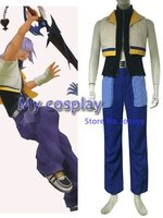 Anime Kingdom Hearts Riku cosplay costume pour Halloween Cosplay parties Animation Hommes Costumes Vêtements Costume Complet Robe