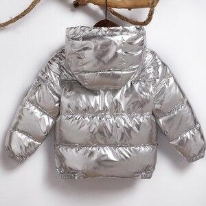 Image 4 - 子供ジャケット女の子のフード付き春冬暖かいと子供のジャケット & 生き抜く幼児の少年コート3 5 8歳