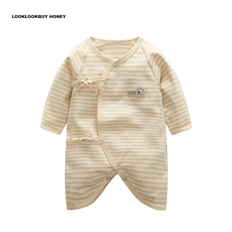 Pasgeboren Kleding 0-3 Maanden Katoen Baby Vlinder Kleding En Najaar Ondergoed Maand Kleding Baby Jumpsuit Koop Altijd Goed