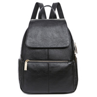 2016 New Fashion Genuine Leather Women Leather Backpacks School Bags Students Backpack Ladies Women S Travel