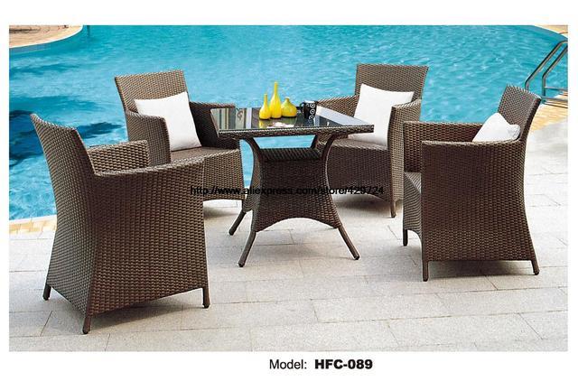Heißer Verkauf Braune Gartenmöbel Modernes Design Verkauf Usa