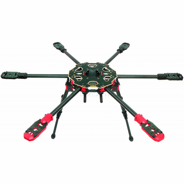 Tarot 680PRO 6 Axis Carbon Fiber Folding Hexacopter Aircraft Frame ...